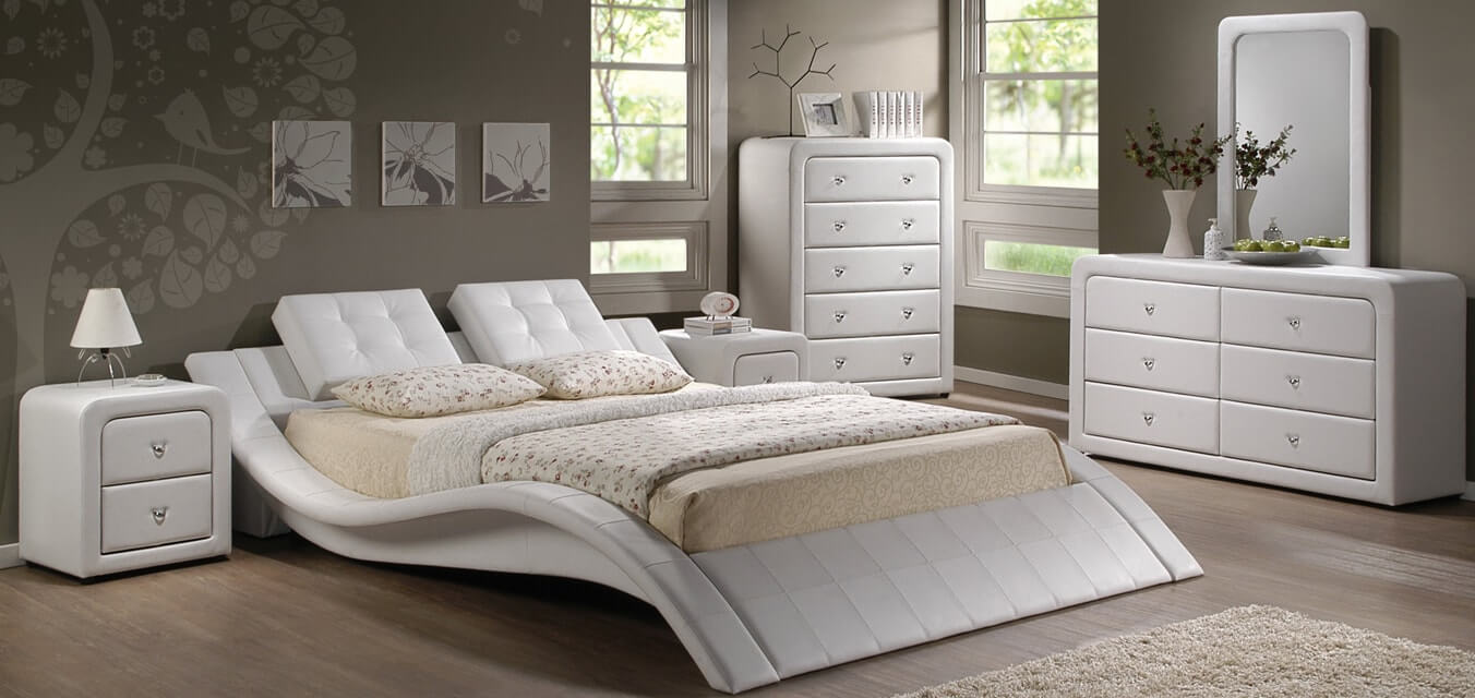 Malaysia upholstery furniture manufacturer pu bedroom pu for Bedroom furniture with mattress