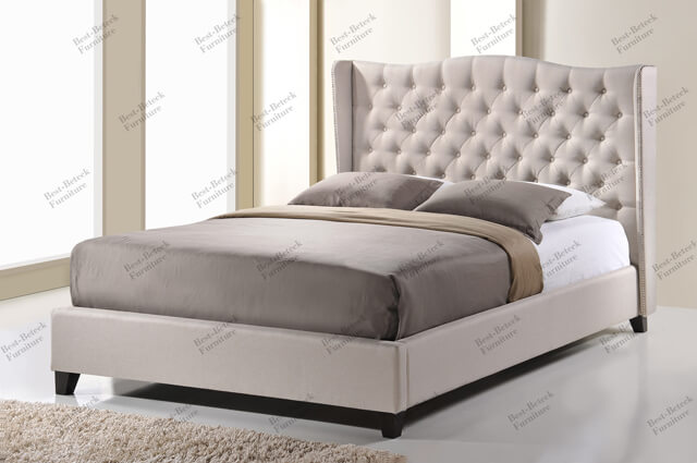 Malaysia Faux Leather Beds Pu Beds Frabric Beds Best